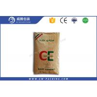 Quality 20kg 25kg Valve Polypropylene Cement Bags Heat Seal UV - Protection Treatment for sale