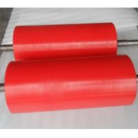Quality High Anti Abrasion Industrial Red Polyurethane Roller Coating, Polyurethane Rollers for sale