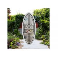 Buy cheap Fused glass Red Copper Optional Decorative soldering Clear beveled window from wholesalers