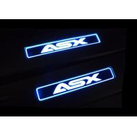 Quality Mitsubishi ASX 2013 2017 Steel Side Door Sill Scuff Plates with LED Light for sale