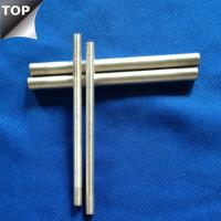 Quality Customized Drawing Tungsten Silver Alloy Bar / Rod High Arc Corrosion Resistance for sale