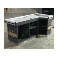 Quality ODM Grocery Store Checkout Counter / Retail Craft Show Checkout Stand for sale