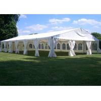 Quality Fireproof Cover Garden Marquee Tent Hop - Dip Galvanized Connectors 0.5kn / sqm for sale