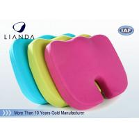 OEM Orthopedic Memory Foam Seat Cushion Tailbone and Backpain , Hip Cushion