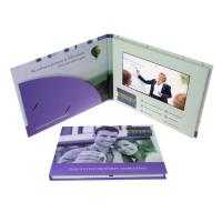 Quality Portable LCD Promotional Video Card Foldable Digital Video Brochure for sale