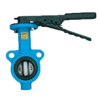 Quality Compact Structure Flowseal Butterfly Valve Resilient Seated Butterfly Valves for sale