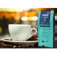 Quality PET Plastic Side Gusset Coffee Bags Custom Printed , Laminated Clear Stand Up Pouches for sale