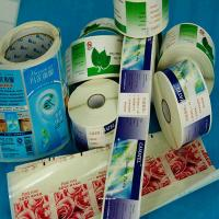 China 2015 Custom printed cosmetic labels on sale