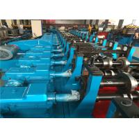 Quality High Speed Sheet Roll Forming Machine , Walk Board Sheet Metal Forming Equipment for sale
