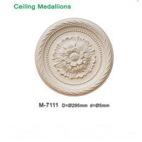 Quality Polyurethane ceiling medallion / lamp base various size available 295mm 350mm 390mm for sale