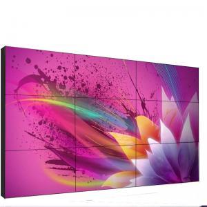 Quality Exterior Super Narrow Bezel LCD Wall Display 46 4K DID 3.5mm Bezel 3x3 Video Wall for sale