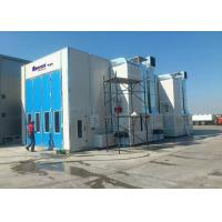 Quality Middle Door High Precision Outside Paint Booth , Bus Spray Booth Rental for sale