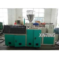 China Double Screw PVC Pipe Production Line 90-420kw Durable For Drainage Pipe on sale
