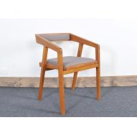 Quality Restaurant Modern Dining Room Chairs With Wood Frame Fabric Seat for sale