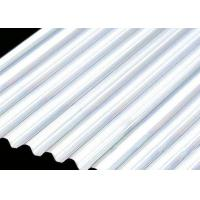 Building Roof 6061 4mm Aluminum Sheet , Smooth Curving Corrugated Roof Sheets