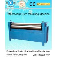 Quality Manual Feeding Sheet Pasting Machine to Make Single Facer Corruagted Board for sale