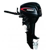 China Hidea 15hp 2 Stroke Gasoline Marine Outboard Engines / Inflatable Boat Motor on sale