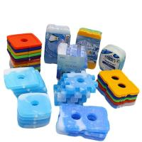 Quality Plastic Shell Cold Ice Gel Packs , Cool Box Freezer Packs Environmental - Friendly for sale