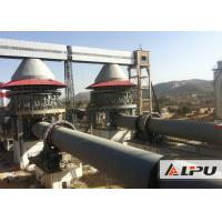 Quality 600 - 1000tpd Active Lime Rotary Kiln For Dolomite Calcination Dry And Wet Type for sale