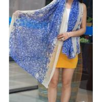 Quality 00144 series printing voile for shawl for sale