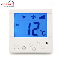 Buy cheap Air Conditioner Controller HVAC Thermostat , Adjustable Floor Heating Thermostat from wholesalers