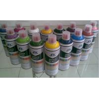 Quality DIY Colorful Graffiti Art Spray Paint / Aerosol Spray Paint Red Blue Purple Gold for sale
