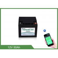 Quality Lithium Battery Solar Storage Deep CycleLifepo412V 50ah LithiumBatteryFor RV/Camping cars for sale