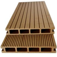 wood plastic composite decking above ground pool  solid composite decking