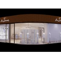 Quality White Retail Clothing Store Furniture , Display Furniture For Retail Stores for sale