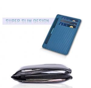 Buy Leather Wallets for Men & Women – RFID Blcking Slim Design Front Pocket at wholesale prices