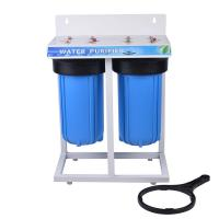 China Blue Color Home Water Filter , Under Sink Water Filter System PP Material on sale