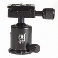 Professional Tripod Ball Head for Camera, Comes in Black and Red