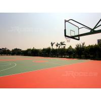 Quality Anti-slip Synthetic Material Basketball Sport Court Flooring Odour Free for sale