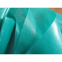 Quality 165gsm pe virgin green tarpaulin with polythene coating for sale