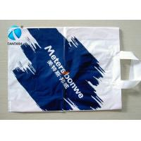 Quality Personalized colorful Plastic Shopping Bag with handle and the environment for sale