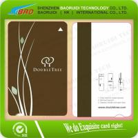 Quality Printed PVC Card with Hico Magnetic Strip Hotel Magnetic Strip Card for sale