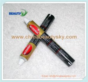 China Glue / Adhesive / Sealant Packaging Empty Soft Aluminum Tubes on sale
