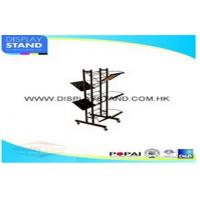 Quality Recyclable Metal Counter Pop Displays , Retail Floor Display Rack for sale