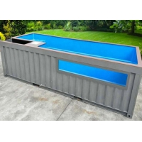 China Topshaw Competitive Price 20ft 40ft Modern Shipping Container Pool for Sale on sale