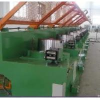 Buy Medium Carbon Steel Wire Drawing Machine , Industrial Iron Wire Manufacturing Machine at wholesale prices