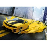 Buy Yellow Pure Polyurea Elastomeric Automotive Spray Painting High Adhesive Strength at wholesale prices