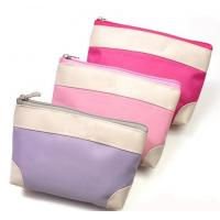 Quality PVC Cosmetic Cases Bags Lovely Lady Make Up Purse for sale