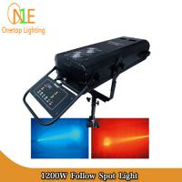 Buy cheap Stage Lighting Wedding equipment stage light HMI 1200w follow spot light Onetop Lighting from Wholesalers
