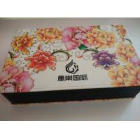 Quality cardboard paper box, paper packaging box,velvet flocking paper box for sale