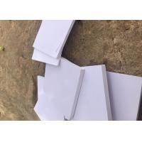 China 0.3g / Cm3 Density Fire Retardant Foam Insulation Board White Color on sale