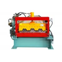 Quality 23 Rows Floor Deck Roll Forming Machine Customized Length Effective Width 720mm for sale