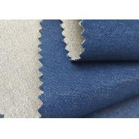 Buy Fashion Comfortable Woven Blue Denim Fabric 4.2 Oz Polyester / Cotton Materials at wholesale prices
