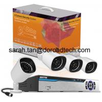 Quality 4CH PLC Wireless IP Cameras NVR Security System for sale