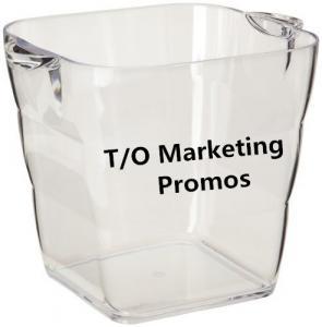 China TOM104917 Transparent acrylic ice bucket for beer cold, Ice bucket, transparent ice bucket on sale