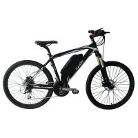 Quality 26 Inch Electric Assist Mountain Bike Carbon Frame 8 Speed 36V 250W for sale